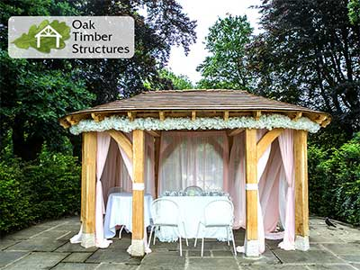 Bespoke Oak Gazebo