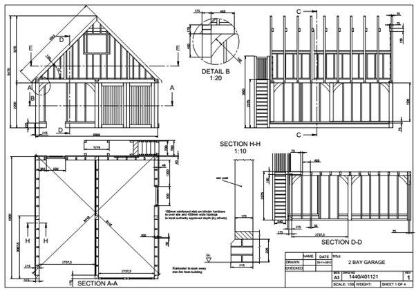 Oak Garage Designer Oak Timber Structures