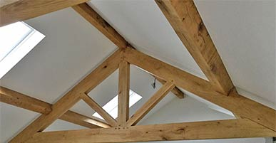 Oak Purlins & Beams etc.