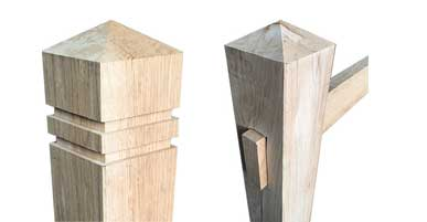 Oak Bollards and Posts