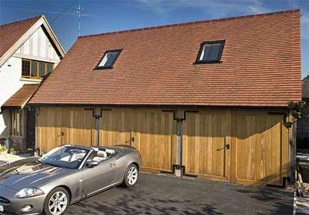 Superb An Oak Framed Garage