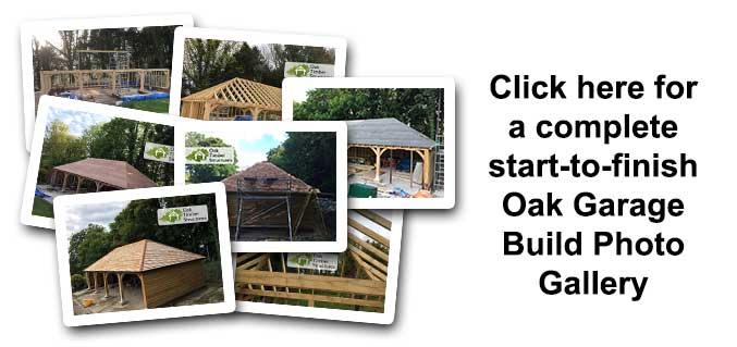 Captivating Design Your Ideal Oak Framed Garage Online