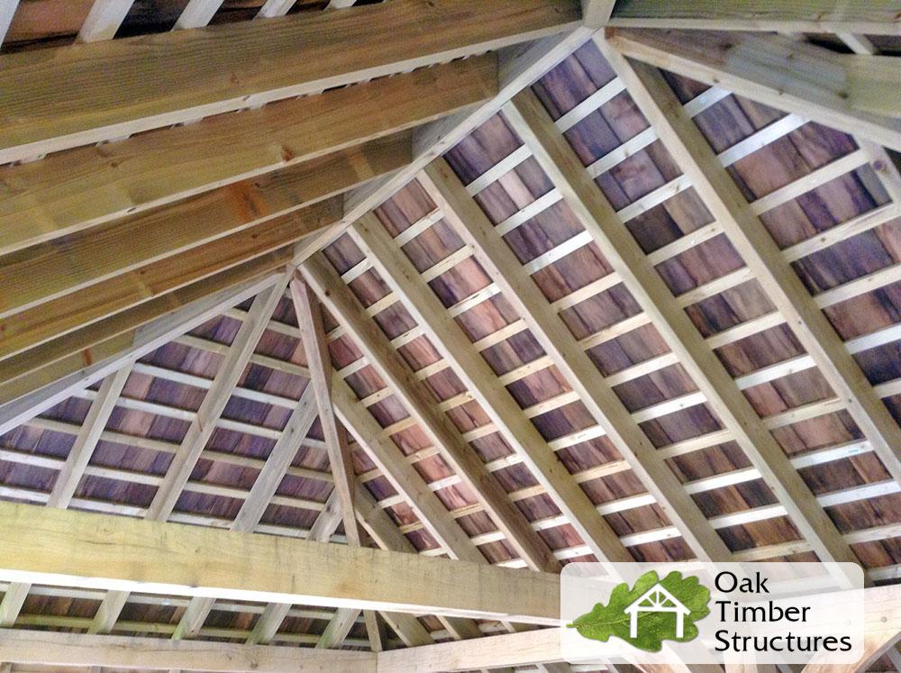 Solid Oak Garages Oak Timber Structures