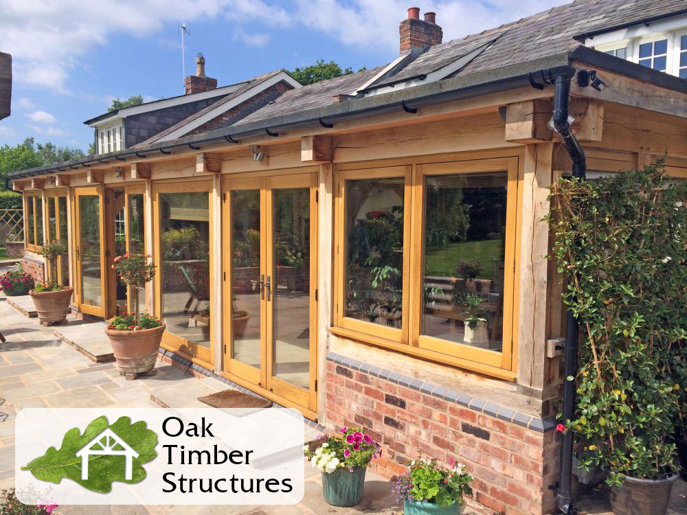 Solid Oak Garden Rooms Oak Timber Structures