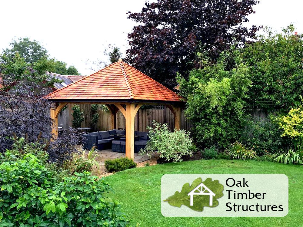 Solid Oak Gazebos Oak Timber Structures