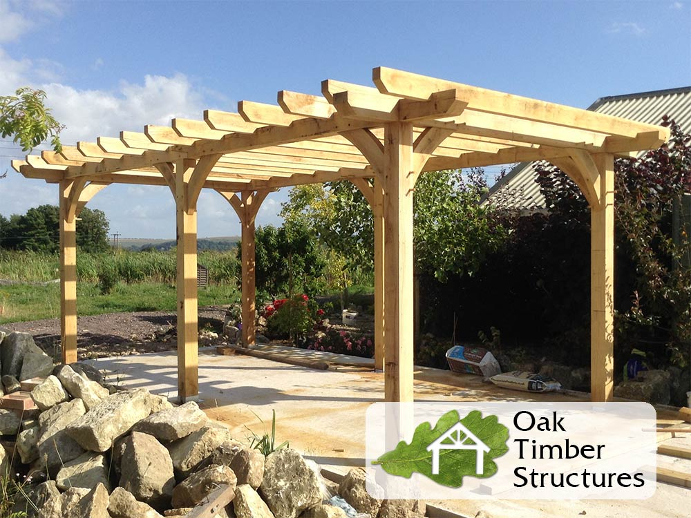 Watch How to Build a Pergola video