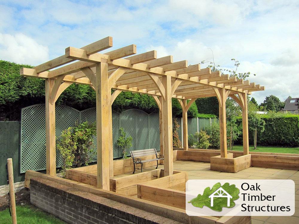 Building An Oak Deck