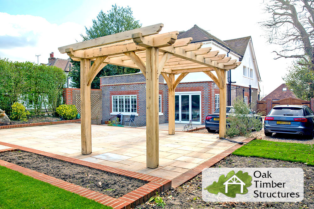 Solid Oak Pergolas Oak Timber Structures