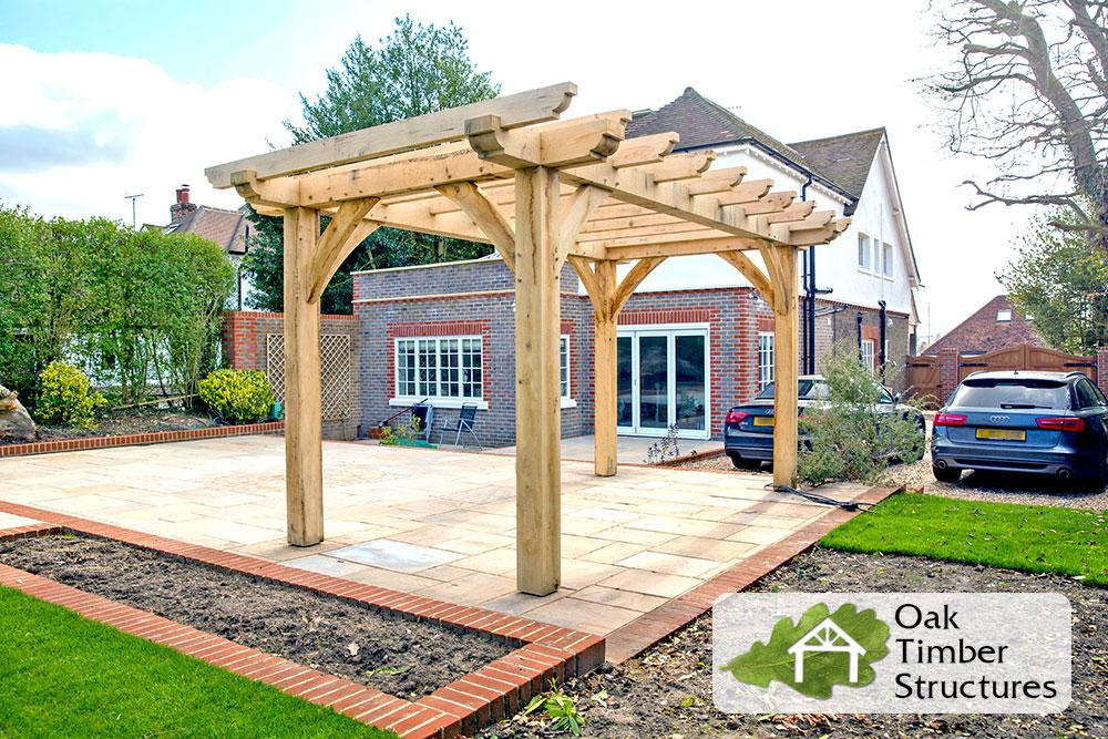 Solid Oak Pergolas Oak Timber Structures