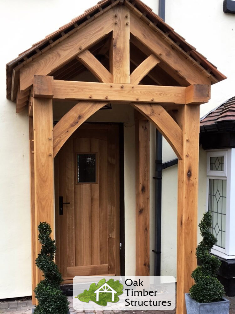 Solid Oak Porches Timber Structures