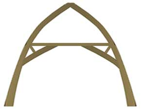 Oak trusses design and buy online oak timber structures for Where to buy trusses