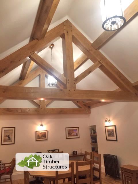 Oak Trusses Design And Buy Online Oak Timber Structures